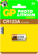 Lithiumparisto 3V GP CR 123A