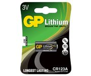 Lithiumparisto 3V GP CR123A