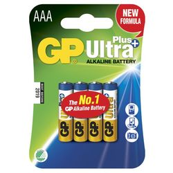 GP Ultra Plus AAA-paristot, 24AUP/LR03, 4-p