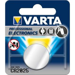 Varta CR2025 Lithiumparisto 3V