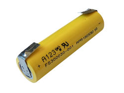 Lifepo4 kenno A123 Systems APR18650 M1A 3,3v 1100mAh