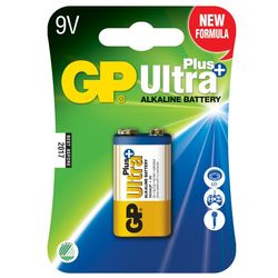 GP Ultra Plus 9V-paristo, 1604AUP/6LF22, 1-p