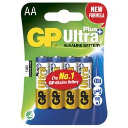 GP Ultra Plus AA-paristot, 15AUP/LR6, 4-p