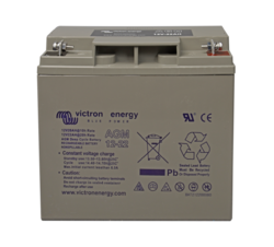 VICTRON ENERGY AGM DEEP CYCLE 12V 22AH