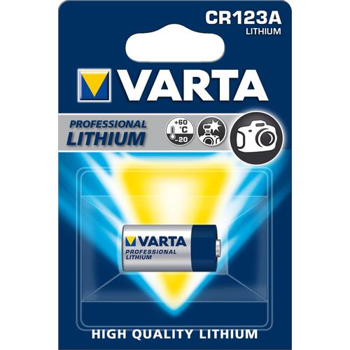 Varta CR123A litium paristo 3V
