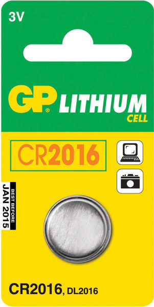 Lithiumparisto CR2016 3V