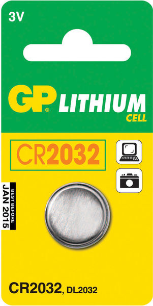 Lithiumparisto CR2032 3V